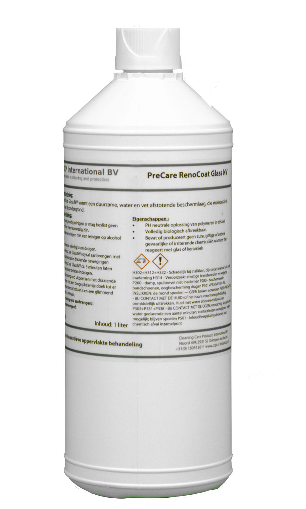 PreCare RenoCoat Glass NV 1ltr